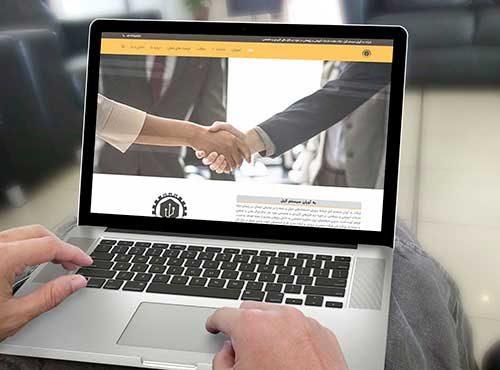 نمونه کار طراحی سایت شرکتی پدیدار | به آوران سیستم |طراحی سایت در رشت | طراحی سایت در گیلان |پدیدار مارکتینگ