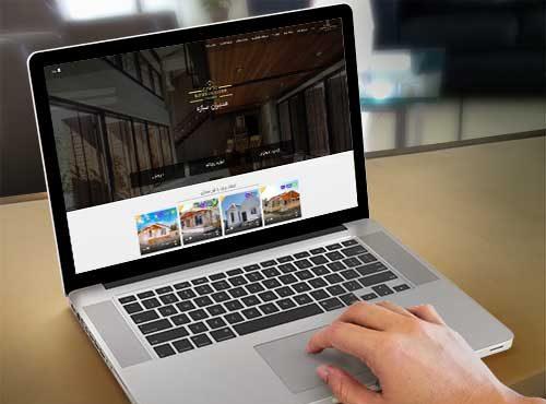 نمونه کار طراحی سایت املاک مدیران سازه | مدیران سازه |طراحی سایت در رشت | طراحی سایت در گیلان | پدیدار مارکتینگ
