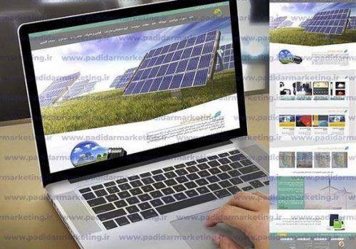 نمونه کار طراحی سایت شرکتی | پدیدار مارکتینگ | طراحی سایت شرکت ایرمان انرژی | طراحی سایت در رشت | طراحی سایت در گیلان