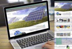 نمونه کار طراحی سایت شرکتی   پدیدار مارکتینگ   طراحی سایت شرکت ایرمان انرژی   طراحی سایت در رشت   طراحی سایت در گیلان